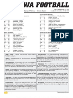 Iowa Week 5 Depth Chart