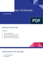 patient safety 105 module