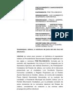 Denuncia del PAN en el Tribunal Electoral del Estado de Jalisco