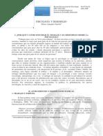 Psicología y desempleo - Eileen Aránguiz Garrido