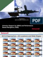 Honeywell GBAS GLS Avionics