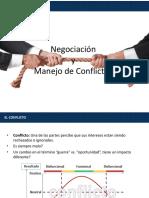 Manejo de Conflictos y Negociación