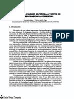 MATICES DE LA CULTURA ESPAÑOLA A TRAVÉS DE LA CORRESPONDENCIA COMERCIAL