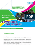 Malla 2da Up Creciendo en Valores