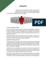 Trabajo Practica Docente ,Liderazgo , y Los Niveles de Concrecion
