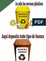 Carteles de Recicljae (2)