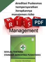 2. Standard and Risk Management