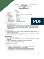 Silabo de Lenguaje de Programacion Civil - 2011-II