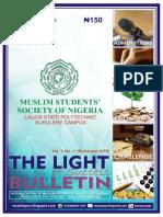 1. Bulletin (Muharram 1439)