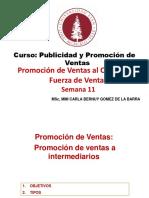 Publicidad y Promocion de Ventas Sem 11 Prom Int y Faz Vtas