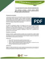 Divergencia en La Calidad Educativa en El Estado de Michoacán.