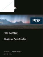 1300 Maxtrak Illustrated Parts Catalog - MASTER COPY