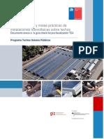 Guía de Buenas y Malas Prácticas de Instalaciones Fotovoltaicas Sobre Techo Anexo_ Guía Checklist Pre-fiscalización TE4