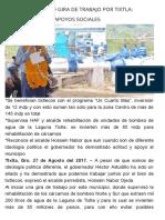 27-08-2017 Realiza Astudillo Gira de Trabajo Por Tixtla_ Entrega Obras y Apoyos Sociales.