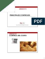 Principales Controles Del Proyecto