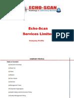 Echo Scan Profile