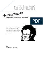 Franz Schubert His Life and Works