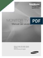 Manual Samsung Ta550