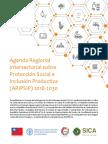 Agenda Regional Intersectorial sobre Protección Social e Inclusión Productiva (ARIPSIP) 2018-2030