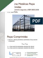 Estruturas Metálicas Compressão