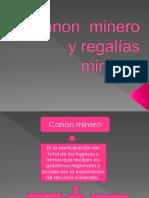 Canon Minero y Regalías Mineras 33333333