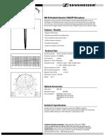 Sennheiser Md-46 Datasheet
