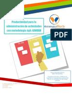 Programa Productividad Para La Administración de Actividades Con Metodología Ágil KANBAN