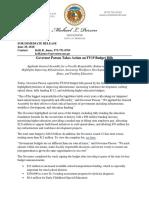 FY19 Budget Bills