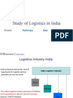 Study of Logistics in India