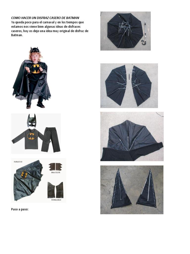 Como Hacer Un Disfraz Casero De Batman - Como-hacer-un-disfraz-casero