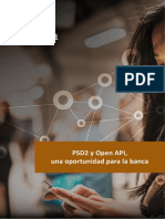 PSD2 y Open API Una Oportunidad Para La Banca