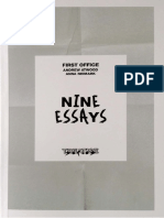 First Office Nine Essays 1-3