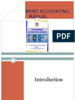 Government Accounting Manual