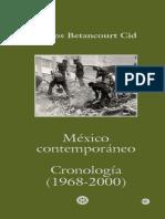 México Contemporaneo. Cronología (1968-2000)