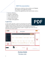 ERP User Documentation