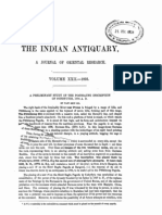 Indian Antiquary Vol