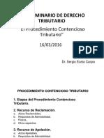 Procedimiento contenciosos - Tributario