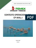 Contexto Operacional CP Akal J