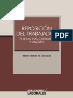 Reposicion Del Trabajador Por Las Vias Ordinaria y Amparo (1)