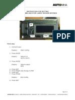 Setting Keyence Sensor