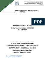 Solucion Trabajo Colaborativo Matematicas Tc Grupo 5
