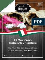 El Mexicano Mezcaleria