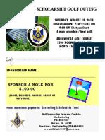 easterling scholarship hole sponsor form 2018