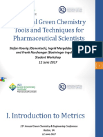 6 Session2 Student Workshop June 12 GreenChemistry Final Wo Example