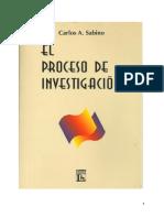 Carlos Sabino - El proceso de investigación