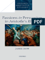 Passions and Persuasion in Aristotle - Jamie Dow