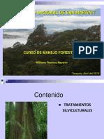 5  Tratamientos silviculturales _
