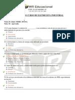 Avaliaçao de Eletricista Industrial