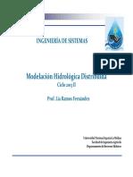 7. Modelación Hidrologica Distribuida