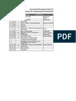 Programa Capacitación PD